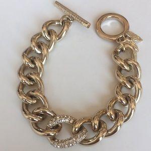 New Victoria's Secret Gold Link Chain Bracelet